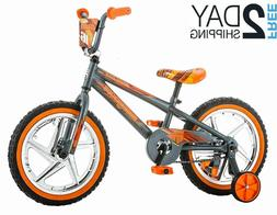 Mongoose Skid Boy's Freestyle BMX Bike with Training Wheels,