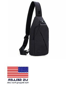 Tinyat Sling Bag Pack, Crossbody Hiking Biking Backpack