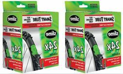 Slime Smart Tube Schrader Valve Bicycle Tube , 2 Pack