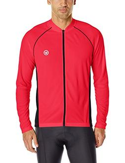 Canari Men's Solar Flare Elite Jersey, Red Hot, Large