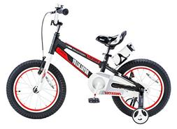 Royalbaby Space No. 1 Aluminum Kid's Bike, 14 inch Wheels, B
