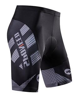 sponeed Padded Cycling Shorts Men Bicycle Underwear Half Pan