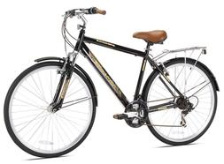 Kent Northwoods Springdale Men's Hybrid Bicycle, Black