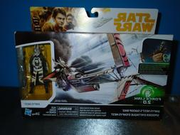 STAR WARS FORCE LINK 2.0 ENFYS NEST'S SWOOP BIKE BOXED FIGUR