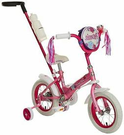 Steerable Kids Bikes, Featuring Push Handle for Easy Steerin