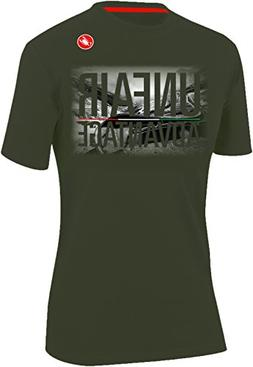Castelli Stelvio T-Shirt - Men's Forest Gray, L
