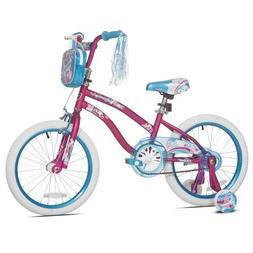 """Sturdy and Stylish Kent 18"""" Mischief Girls Bike,With Translu"""