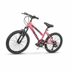 Huffy Kids Hardtail Mountain Bike for Girls, Summit Ridge 20