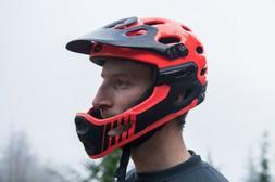 Bell Super 2r Mtb Helmet Full Face Infrared Small