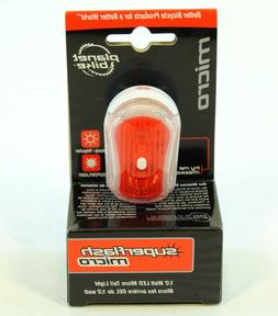 Planet Bike Superflash Micro Bicycle Taillight 1/2 WATT LED
