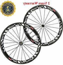 Superteam 700C Carbon Wheels 50mm Carbon Bike Clincher Wheel