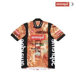Supreme Castelli Men Biking Jersey Sz. L WITH TAGS