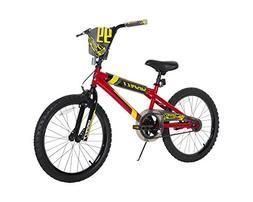 "Dynacraft Boys Suspect Bike, Red/Black/Yellow, 20""/One Size"