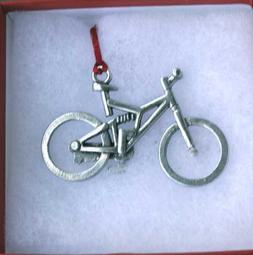 Dana Paige Designs Mountain Bike Ornament - Full Suspension