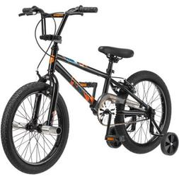 "Mongoose 18"" Switch Boys' Freestyle Bike R1840WMDS, Black"