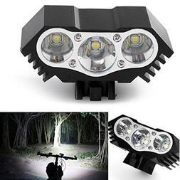 Generic 10000 Lm 3 x T6 LED 4 Modes Bicycle Lamp Bike Light
