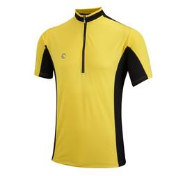 Tenn Mens Coolflo S/S Cycling Jersey - Yellow/Black - XL