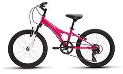 """Tess 20 Youth Girls 20"""" Wheel Mountain Bike, Pink"""