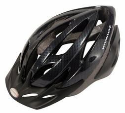 Schwinn Thrasher Adult Microshell Bicycle Helmet, Black/Grey