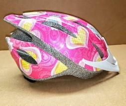 Schwinn Thrasher Girl's Microshell Bicycle Helmet, Pink/Hear