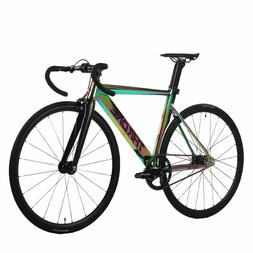 Throne TRKLRD Track Lord Fixed Gear Single Bicycle Neo Chrom