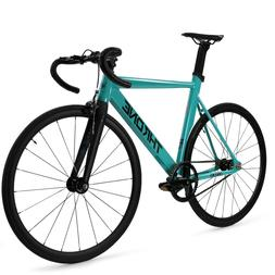 Throne TRKLRD Track Lord Fixed Gear Single Bicycle Teal Cele