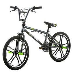 """Mongoose Kids 20"""" Tires Axe Steel Frame Freestyle Youth BMX"""