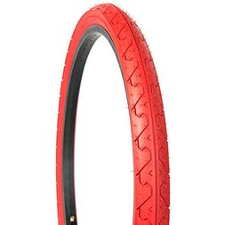 Kenda Tires K838 Commuter/Cruiser/Hybrid Bicycle Tires, Red,