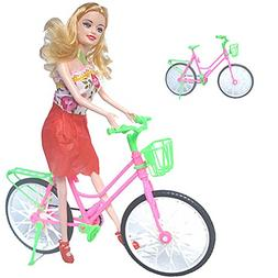 super1798 Kid Girl Toy Play House Plastic Bicycle Bike for B