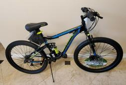 "Mongoose Trail Blazer Mountain Bike 24"" wheels 21 speeds bla"