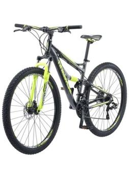 Schwinn Traxion Mountain Bike, Full Dual Suspension, 29-Inch