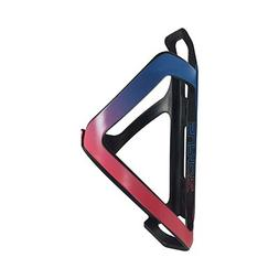Supacaz Tron Side Load bottle cage neon pink and neon blue