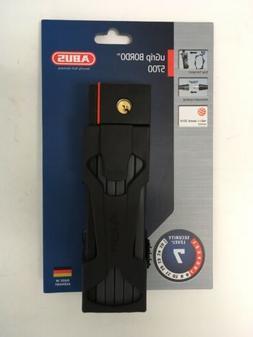 Abus uGrip Bordo 5700 Key Bicycle Folding Lock - 80cm
