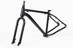 Unbranded Aluminum Fat Bike Frame Set Rigid Fork