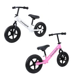 "Unisex Kids Child 12"" Balance Bike Classic No-Pedal Learn To"