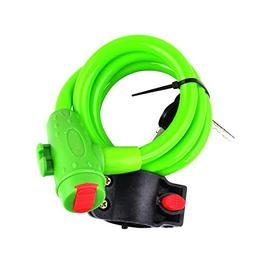 Usaboutall Universal 5 Color Bicycle Bike Cycling Security A