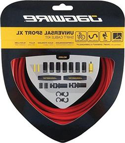 Jagwire Universal Sport Shift XL Cable Kit, Red