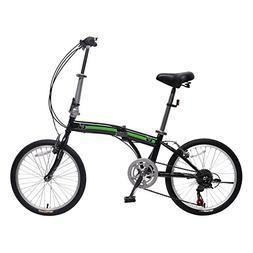 IDS Home Unyousual U Arc Folding City Bike Bicycle 6 Speed S