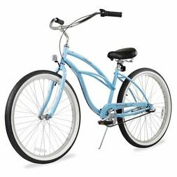 Firmstrong Urban Lady 3-Speed Beach Cruiser Bicycle, 24-Inch