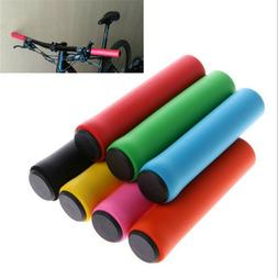 1Pair MTB Soft Foam Silicone Sponge Handle Bar Grips Handlebar Bike Bicycle New