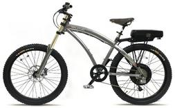 Prodeco V3 Outlaw EX 8 Speed Electric Bicycle, Charcoal Grap