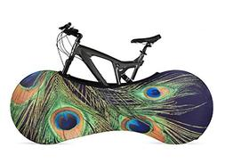 VELOSOCK Bicycle Bike Cover PEACOCK for Indoor Storage - Kee