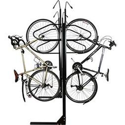 "8-Bike Vertical Bike Rack, Double Sided, Locking, 72""W x 90"""