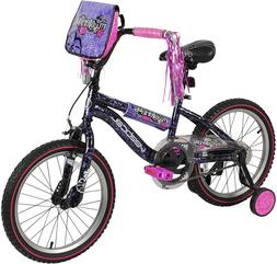 "Vertical Mysterious 18"" Bike with Removable Training Wheels"