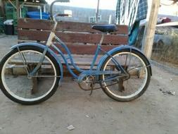 Vintage 1953 B.F. Goodrich Junior Miss Bicycle 24' in. goody
