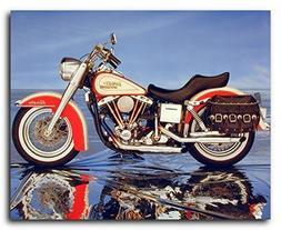 Harley Davidson Wall Decor Vintage Motorcycle Art Print Post