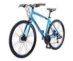 Schwinn Volare 1200 Men's Road Bike, 700C, Matte Blue