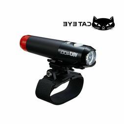 CatEye VOLT 400 Duplex Bicycle Head Light w/Helmet Mount - E