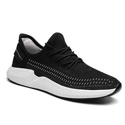 Kvovzo Mens Walking Athletic Shoes Comfort Casual Sneaker Tr