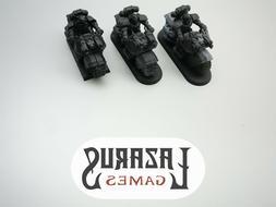 warhammer 40k space marines outriders 3 bikers